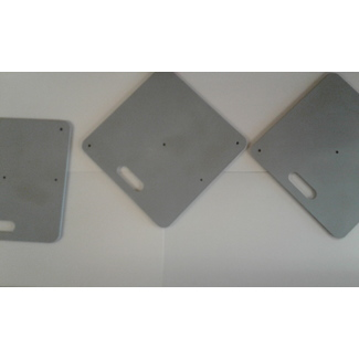 Global Truss Base plate grey-silver 450x450x5mm