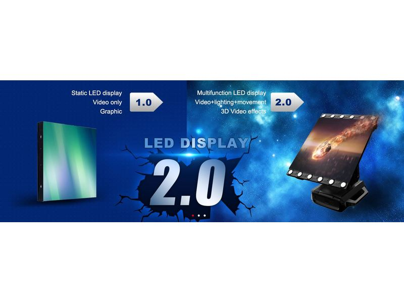 Squareled Clou³ Multifunction 3in1 LED Display Pixel Pitch 4.8 Outdoor Version