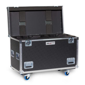 JB Lighting double flightcase for Varyscan P18 made by Amptown with Sip-Insert