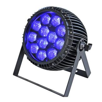 SquareLED Zoom Faible 12x15W IP65 4in1 LED PAR with wireless DMX