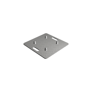 Baseplate 500mm checker plate