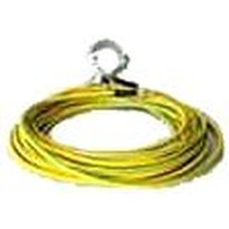 Grounding cable 10m H07V-K1G16 both sides tube cab