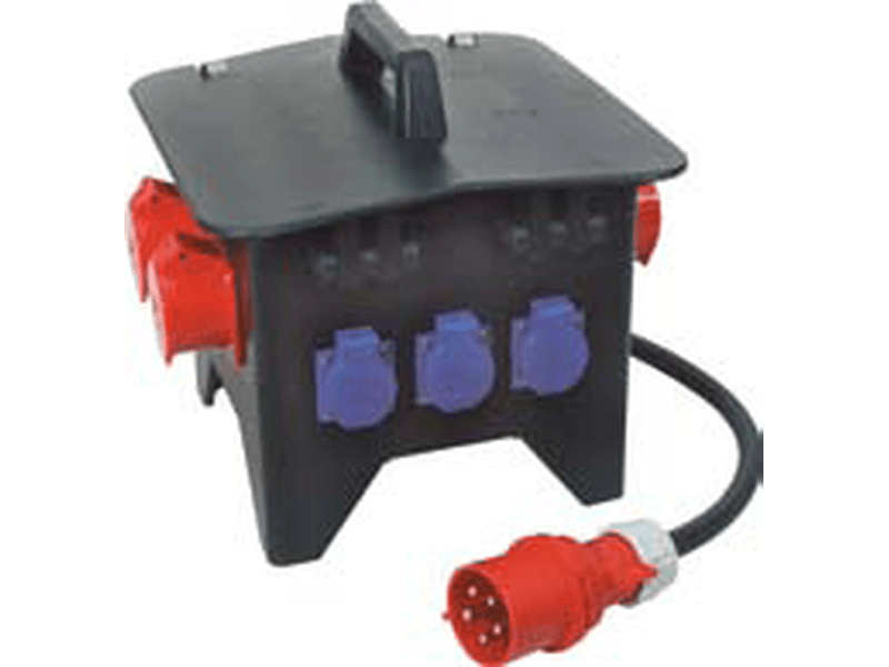 Solid small rubber distribution IP44