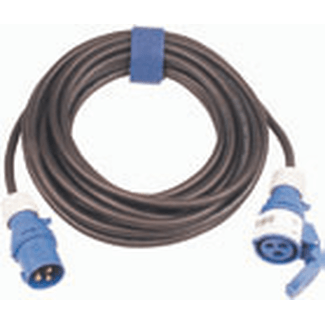 CEE cable 16A 3-pole, H07RN-F 3G2,5  length  5m