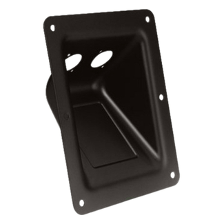 Adam Hall 87 160 mounting tray 2 x 4-pin Universal