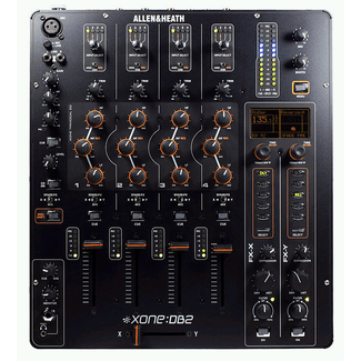 XONE-DB2 DIGITAL CLUB & DJ MIXER with effects