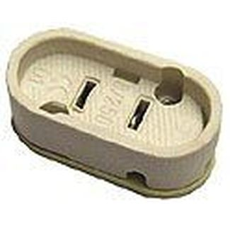 LDR socket GX16d  oval for PAR's