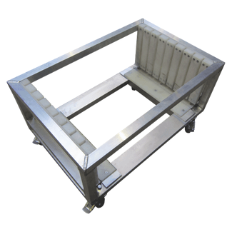 Dolly for baseplate 800x800mm