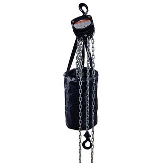 Hand chain hoist black 1000kg