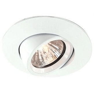 Downlight MR16 Flat die casting, rotating swivelin