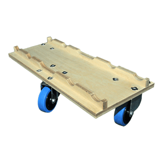 Truss dolly 3 wheels (natural)
