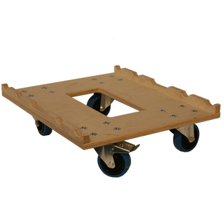Truss dolly 4 wheels (natural)