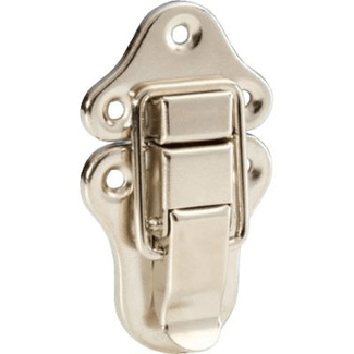 Adam Hall 1607 Central lock, nickel plated
