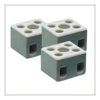 Ceramic terminal block 2-pin
