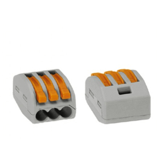 Wago terminal block (3 x 0.08 to 2.5 / 4 mm ²)