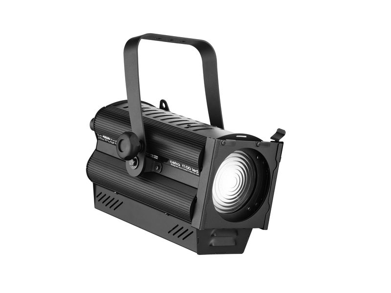 LDR Cetra PC100 W 3200K, 100W 100/260V, DMX512, black