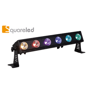 SquareLED Ventura 6x25W RGBAW Matrix Bar IP65