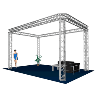 Exhibition booth A HOFKON 290-4 6x4x3,5m