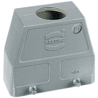 Harting HAN 16 B connector housing, straight leavi