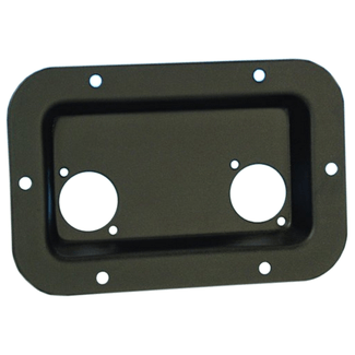 Adam Hall 8708BLK mounting plate