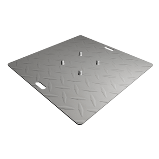 Baseplate 1000mm checker plate