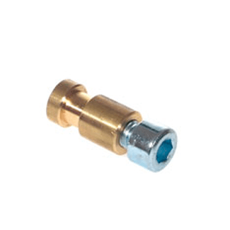 LTH PRO.fessional DIN spigot MS 16mm Internal Thread - inkluded M10