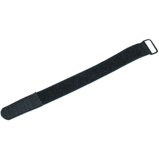 Velcro cable ties 15x1,6cm black