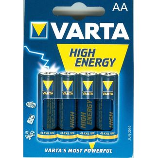 VARTA 4906 High Energy AA MIGNON im 4er Blister