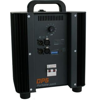 SRS DP12 1x12kW, DMX + fader, DMX 3+5pin, in/out C