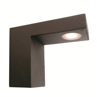 Outdoor wall light Uno I, 1x3W High Power LED