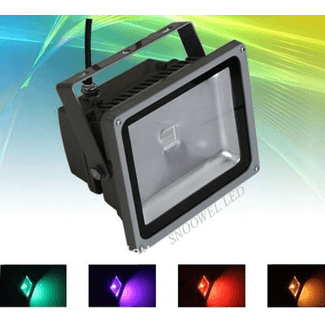 SquareLED Power Flood 30W RGB IP65