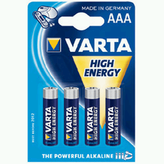 Varta 4903 HIGH ENERGY Battery AAA Micro Alkaline