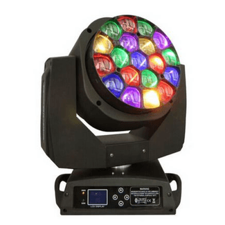 SquareLED Kaleidoscope Eye LED Moving Head 19x15W