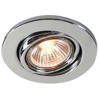 Downlight GU 10 swivel chrome