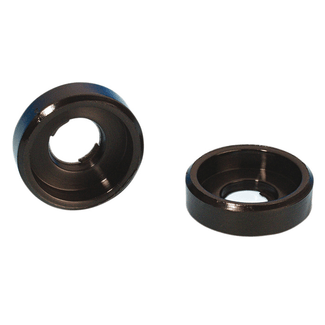 Adam Hall 5620 Recessed plastic washer black