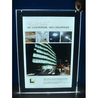 SquareLED  UltraVisual advertising sign A2 format