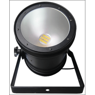 LED PAR 56 long black mit 100W COB LED CW/WW