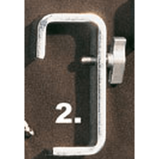 Doughty T20102 HOOK CLAMP 50mm MEDIUM DUTY (25 x 8