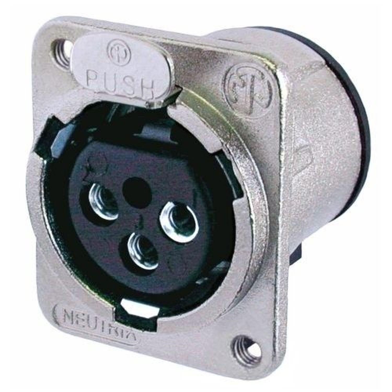 Neutrik NDF Dummy Plug For Use With XLR Chassis Plug
