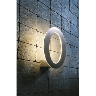 Oval wall light, 7x1W Cree LED, warm white 3000K