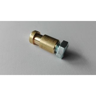 DIN spigot MS 16mm Internal Thread - inkluded M10