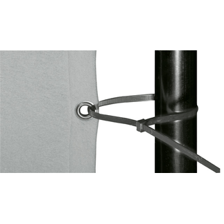 cable tie black 81,2 cm / 9,0 mm  price per 100