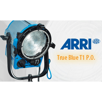 ARRI True Blue T1 P.O. blue/silver bare ends
