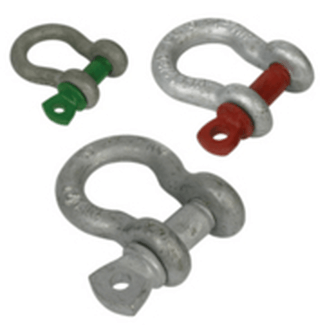 "Doughty T39101 SHACKLE 6mm (1/4"") (Tested to U.S."