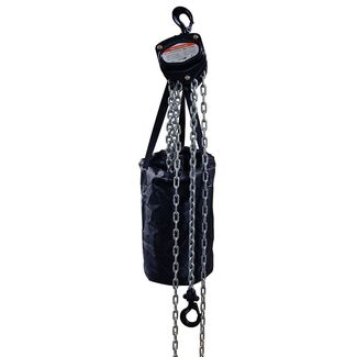 Hand chain hoist black 2000kg