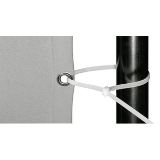 cable tie white 29 cm /4,8 mm  price per 100