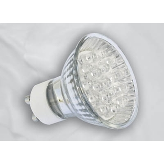 LED Lampe MR 16 GU10,18 LED rot 1,4W
