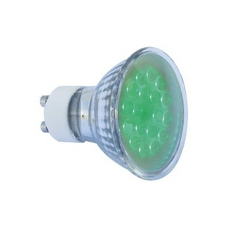 Realite LED Lampe MR 16 GU10 18 LED blau 1,4W 25°