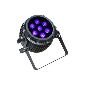 SquareLED ENERGY 7x12W RGBAW + UV (6-in-1) AKKU + Wireless DMX 45°