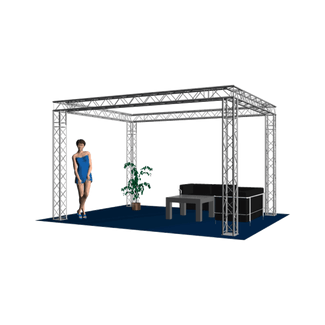 Exhibition booth C HOFKON 220-4 4x3x3m